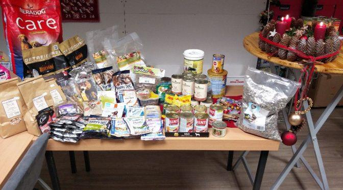 Futterspenden vom Kaupirat