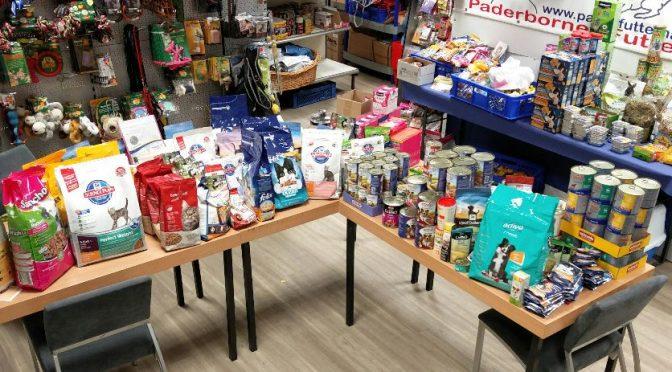Futterhaus Spenden-Sammelstelle