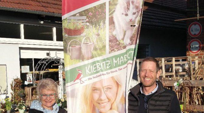 Nachhaltigkeit beim Kiebitz-Markt zu Gunsten des PaderFutterNapfes
