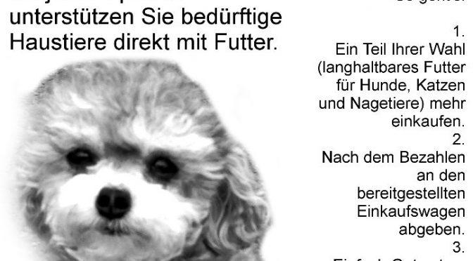 Rotaract Paderborn sammelt Futterspenden