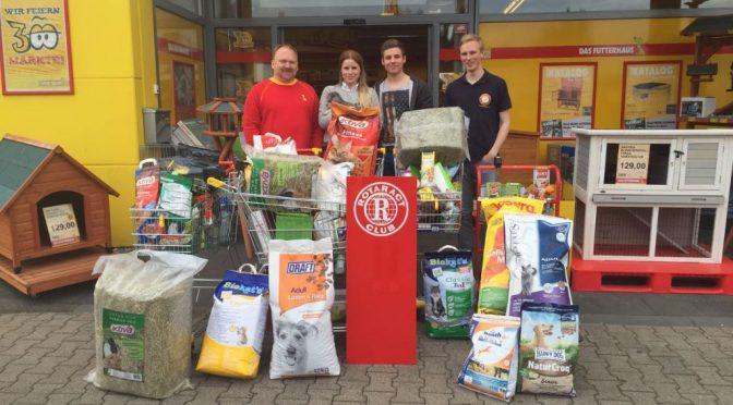 Rotaract Club unterstützt PaderFutterNapf