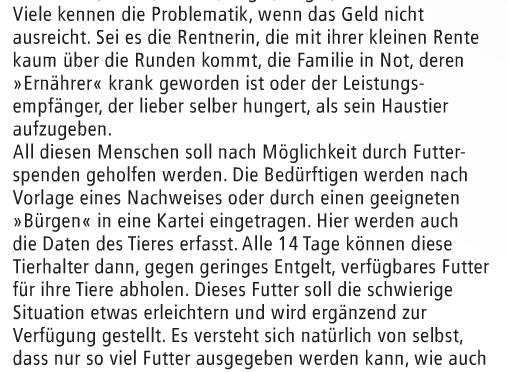 """Presseartikel """"Heft"""" Ausgabe 05-2016"""
