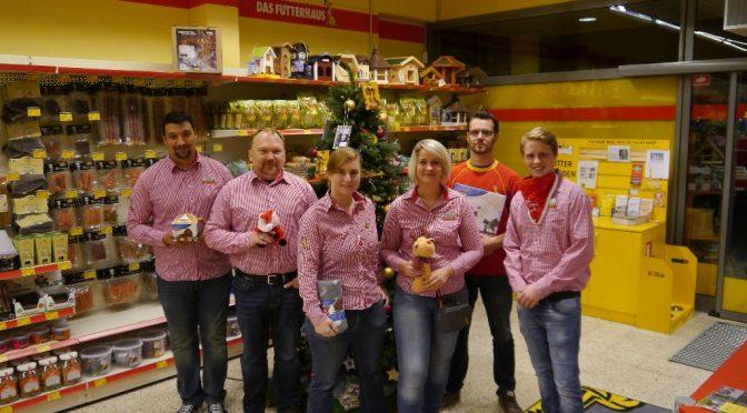 Weihnachtsbaum-Aktion vom Futterhaus Paderborn