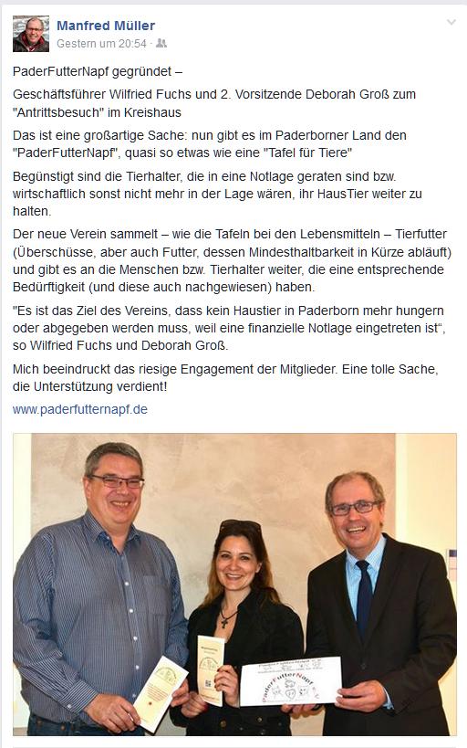 Landrat Müller FB